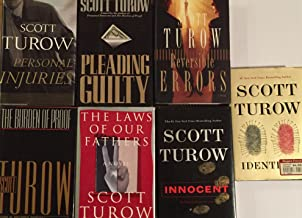 Scott Turow Hardcover Thriller Collection 7 Book Set