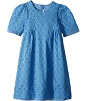 Chloe Kids - All Over Floral Embroidery Dress (Big Kids)