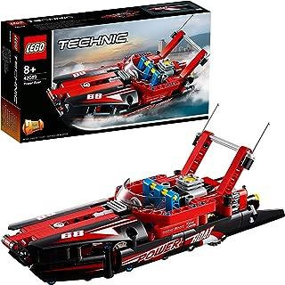 LEGO Power Boat Replica Building Set, Multi-Colour, 42089