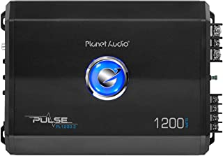 Planet Audio PL1200.2 2 Channel Car Amplifier - 1200 Watts, Full Range, Class A/B, 2/8 Ohm Stable, Mosfet Power Supply, Br... photo