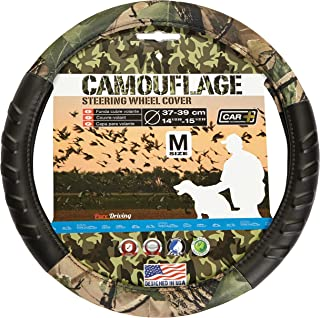 Original CAR+ CAMOUFLAGE steering wheel cover, fits all 14.5