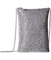 Jessica McClintock - Gina Sparkle Mesh Shoulder Bag Crossbody
