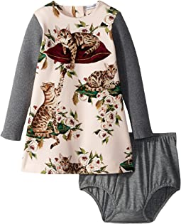Dolce & Gabbana Kids City Gatti Dress (Infant)
