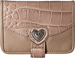 Brighton Belisimo Heart Small Wallet