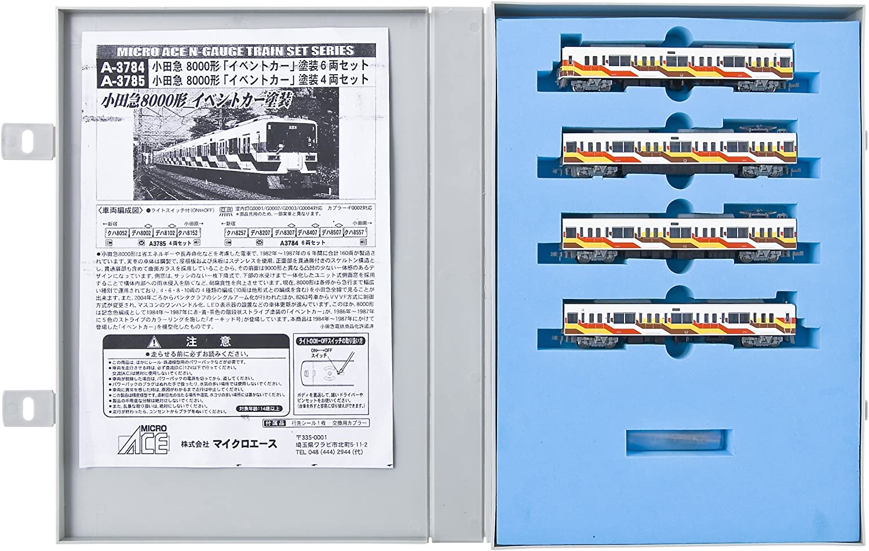 Odakyu Type 8000 [Event Car Paint] (4-Car Set) (Model Train)