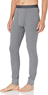 Fruit of the Loom Men's Recycled Premium Waffle Thermal Underwear Long Johns Bottom (1, 2, 3, and 4 Packs)