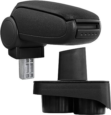 Accoudoir rembourr/é en Cuir /Épaississement de Luxe 7 USB Grand Espace de Rangement /à l/'int/érieur Auto Appuie-Bras V/éhicule Beige Maiqiken Accoudoir Central Console Centrale pour Polo 2011-2016
