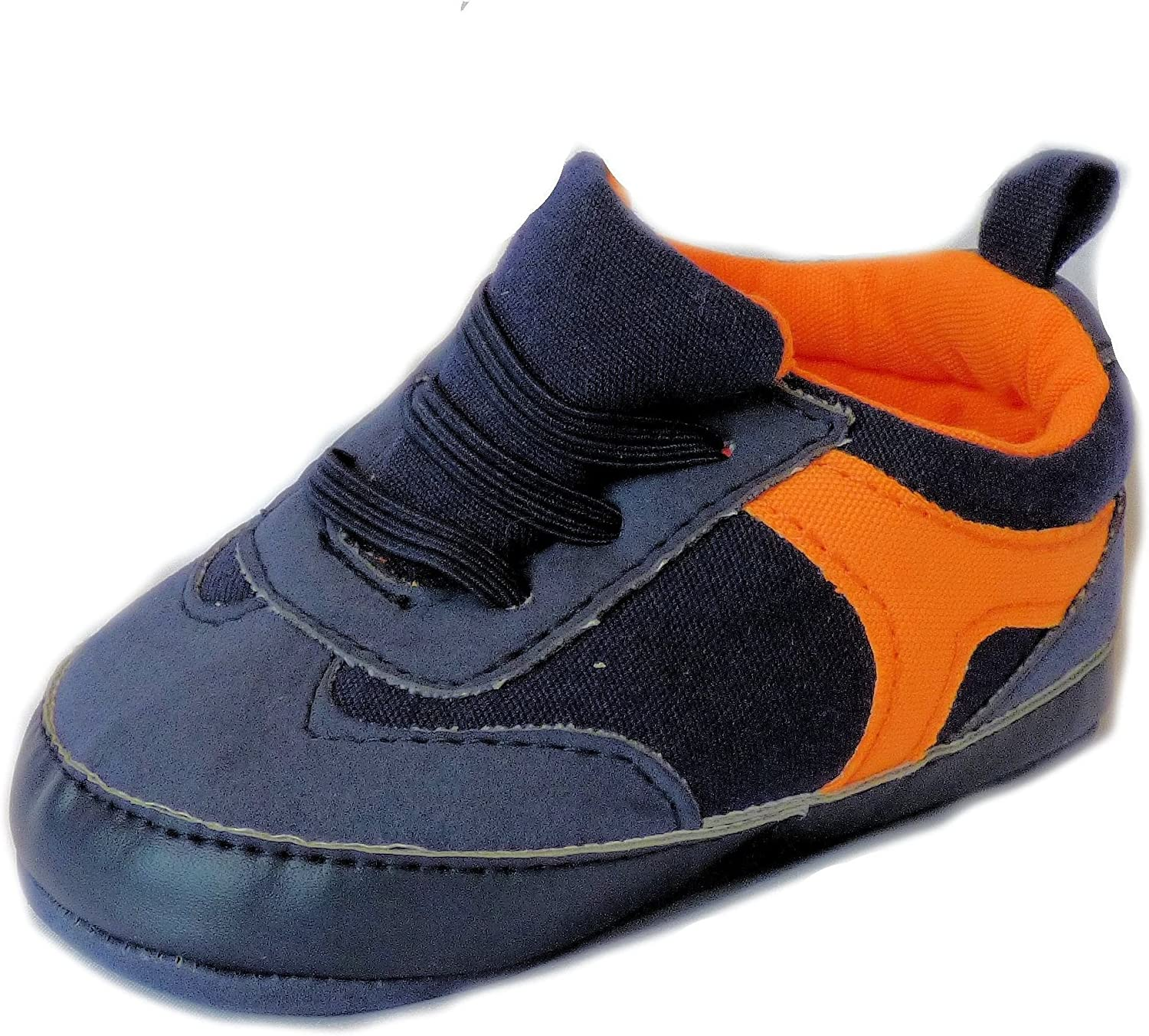Carter's Baby Ranking Max 57% OFF TOP20 Boys Navy Orange Sneakers Months Crib 3-6