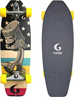 Glutier Surfskate Piston 31,5 T12 Surf Skate Truck...