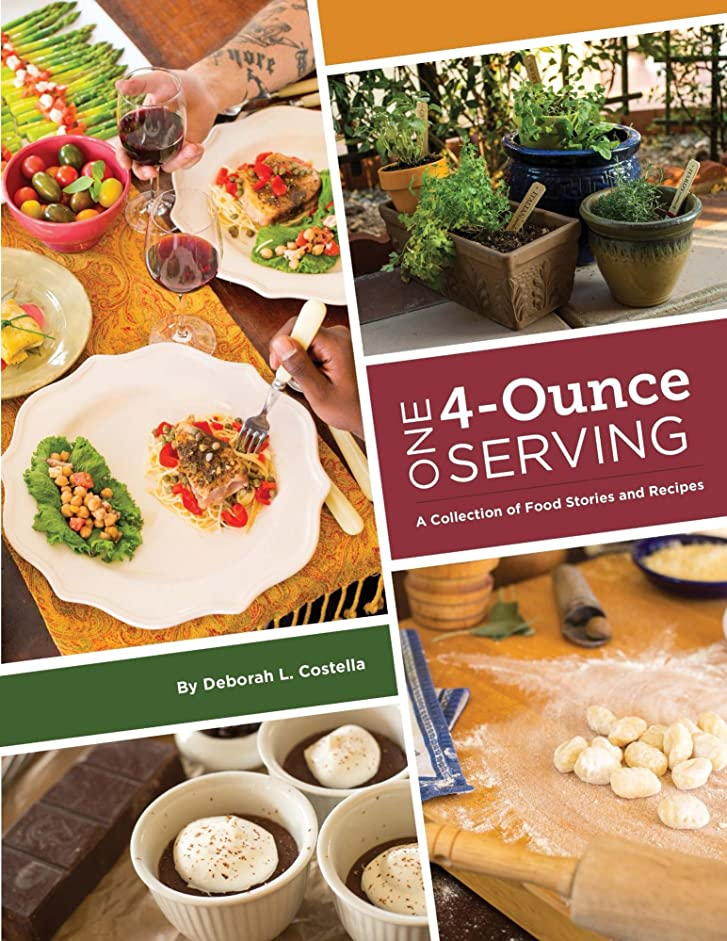 One 4-Ounce Serving: A Collection Of Food Stories And Recipes (English Edition)
