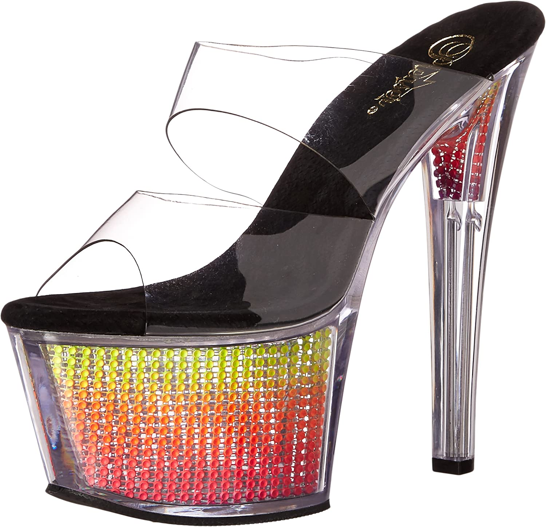 Pleaser Womens sky302srs c nmc Platform Sandal