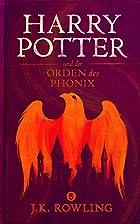 Coverbild von Harry Potter und der Orden des Phönix, von J.K. Rowling