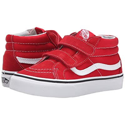 Vans Kids SK8-Mid Reissue V (Little Kid/Big Kid) (Formula One/True White) Kids Shoes