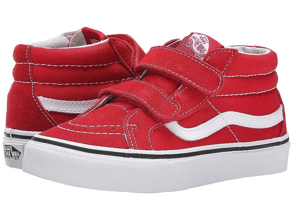 Vans Kids SK8-Mid Reissue V (Little Kid/Big Kid) (Formula One/True White) Kids Shoes