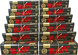 raw black papers king size slim