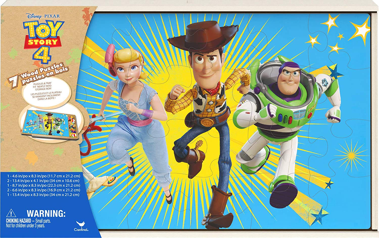Toy Story 4 Jigsaw Puzzles Topics on TV for Set with Kids Kansas City Mall of Wood 7