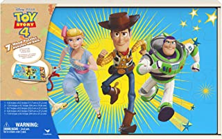 Toy Story 4 Jigsaw Puzzles for Kids, Set of 7 Wood Puzzles with Storage Box, for Families and Kids Ages 4 and up
