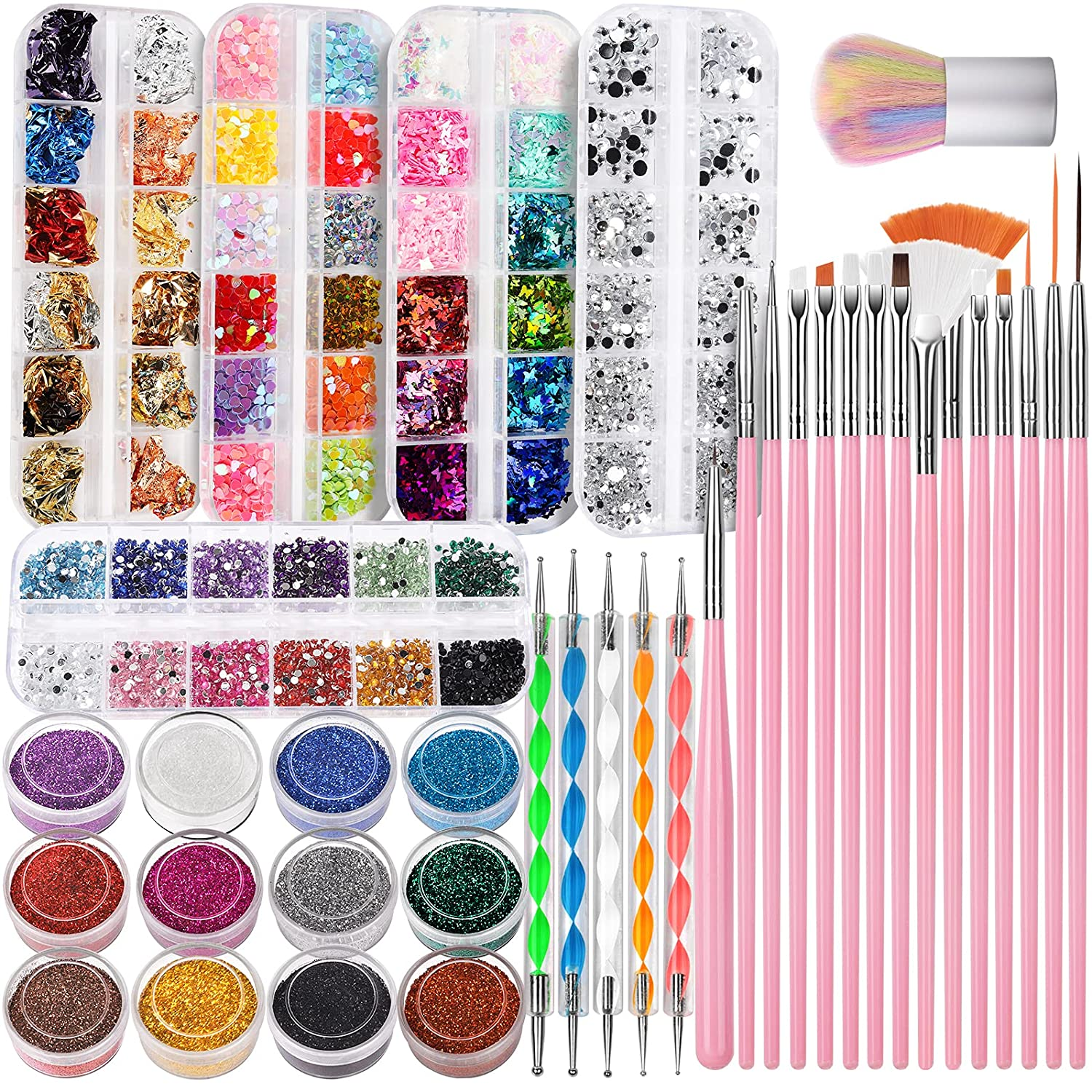 Manufacturer OFFicial shop FANDAMEI Nail Art Kit Design Brush Tools Max 73% OFF with