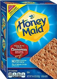Honey Maid Graham Crackers (Cinnamon, 14.4-Ounce Box)