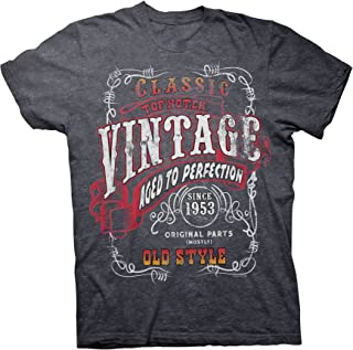 66th Birthday Gift Shirt - Vintage 1953 Aged to Perfection - Sturgis