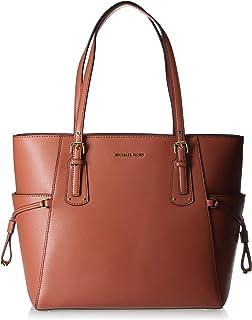 حقيبة توتس للنساء من مايكل كورس، برتقالي محمر - 30H7GV6T9L