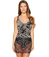 FUZZI - One-Piece Layered Lace Bathing Suit