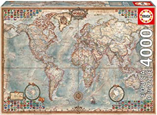 Educa Borrás 14827 - 4000 El Mundo Mapa Politico