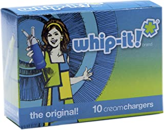 Whip-It! Brand: The Original Whipped Cream Chargers, 10-Pack