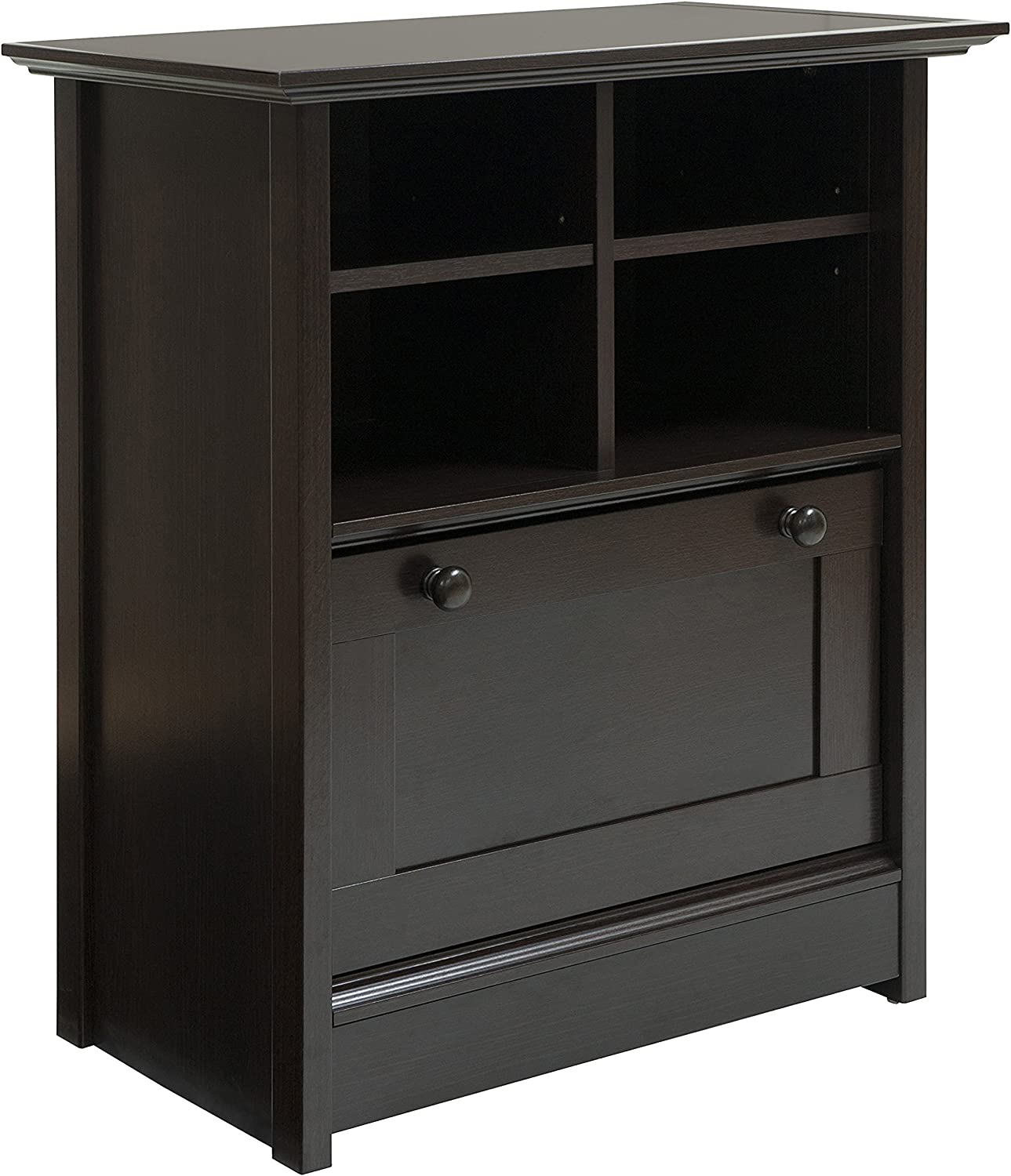 Comfort Products Coublo Collection File Cabinet, Mocha Brown