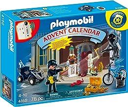 Playmobil - Calendario de Navidad Policías y Ladrones (4168)