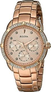 Bulova Women's 98R178 Multi-Function Dial Watch