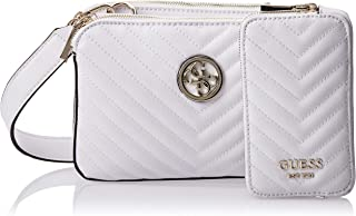 Guess Womens Cross-Body Handbag, White - VG766314