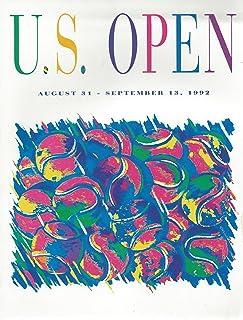 TENNIS CHAMPIONSHIPS MAGAZINE 1992 U.S. OPEN EDITION - AUGUST 31 - SEPTEMBER 13, 1992 - VOL. 42 - NO. 13