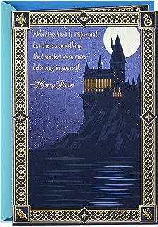 Hallmark Harry Potter Graduation Card (Keep Believing)