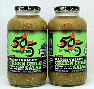 505 Southwestern Hatch Valley Green Chile Salsa Party Pack (2- 40 OZ )