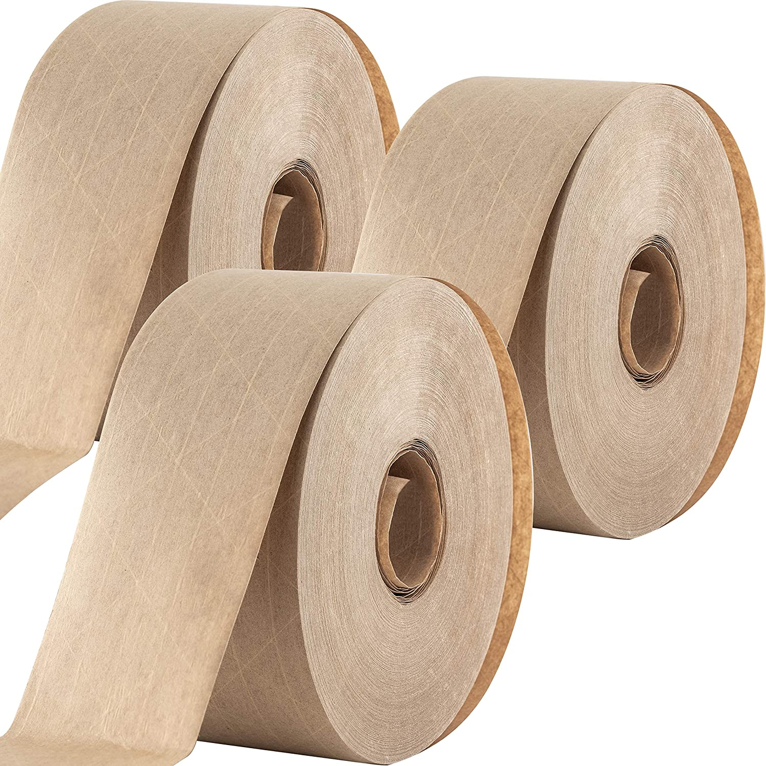 Ultra Durable Water-Activated Tape for Rapid rise Packing Secure 2.75 Mesa Mall Pk. 3