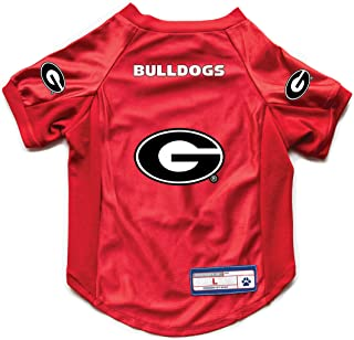 Little Earth Productions NCAA University of Georgia Pet Stretch Jersey