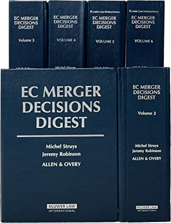 EC Merger Decisions Digest