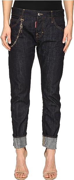 Skin Hibird Pants Five-Pockets