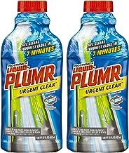 Liquid-Plumr Pro-Strength Clog Remover, Urgent Clear, 34 Fluid Ounces Total