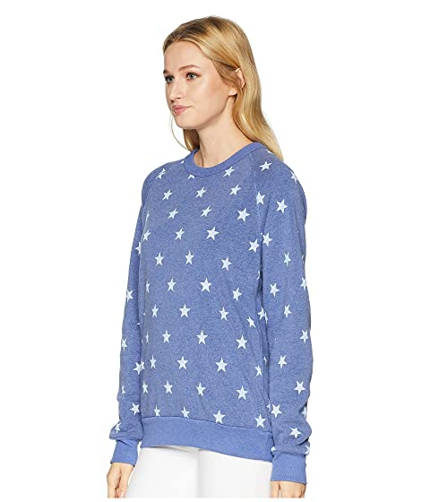 Alternative The Champ Long Sleeve Eco-Fleece Pacific Blue Stars Looking For Latest Cheap Online Sale Websites adK3UA