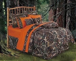 HiEnd Accents Realtree Oak Camo Comforter Set, Twin - CM1001T