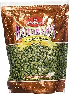 Haldiram Chatpata Mater (Spicy Green Peas Snack) 14 oz