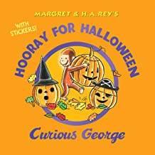 Hooray for Halloween, Curious George (with stickers)