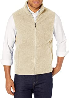 Amazon Essentials Men's Sherpa Fleece Vest