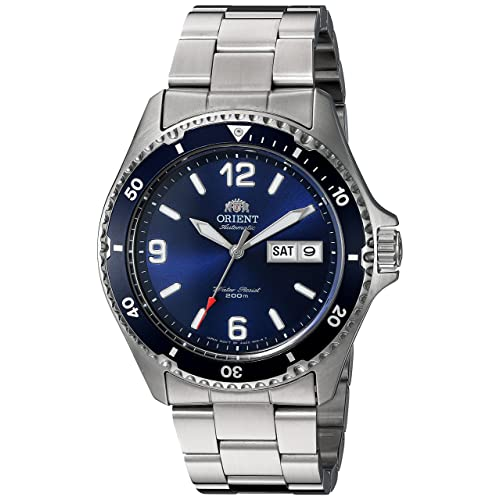 Orient Mens Mako II Japanese Automatic Stainless Steel ...