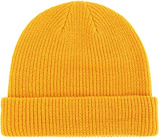 2a92960a07d Connectyle Classic Men s Warm Winter Hats Acrylic Knit Cuff Beanie Cap  Daily Beanie Hat