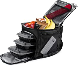 Lunch Bag for Men /& WomenMeal Prep BagSix PackISOFitmarkInsulated