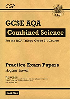 Grade 9-1 GCSE Combined Science AQA Practice Papers: Higher Pack 1