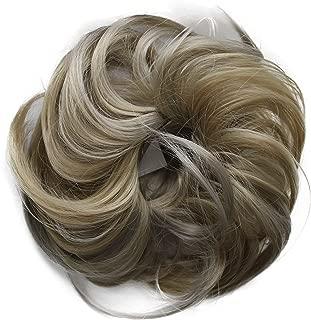 PRETTYSHOP Postizo Coletero Peinado alto, rizado, Moño descuidado,rubia mezcla # 25H101 G32B